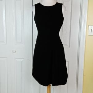 Calvin Klein dress with asymmetrical side rouching